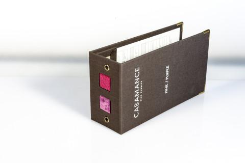 schede e cartelletta porta documenti